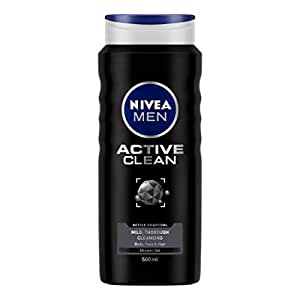 NIVEA MEN Active Clean Shower Gel, 500ml