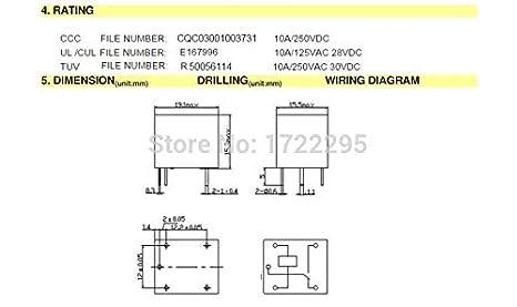 electrical equipments rrd 100pcs 12v relay 5 pin conversion type rh amazon com