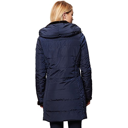 Insulated Women's Zip Pernella Navy and Regatta Jacket Lined Hooded Down Water Repellent 7BT4TWd