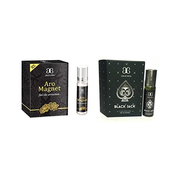 Arochem Black Jack & Aro Magnet Concentrated Attar-Free From Alcohol
