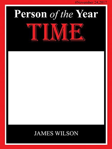 Custom Magazine person of the year Theme Photo Booth Prop - sizes 36x24, 48x36; Pesonalized News Story Party Home Decorations, Handmade Party Supply Photo Booth Frame