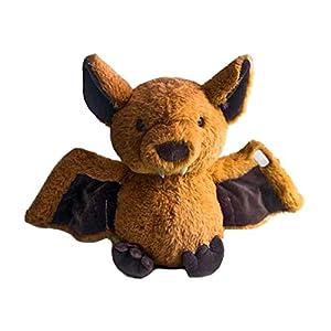 basku Bat Plush, Cartoon Cute Bat Plush Toys Soft Animals Dolls Stuffed Baby Sleep Pillow Bat Cuddly Toy for Kids Girls…
