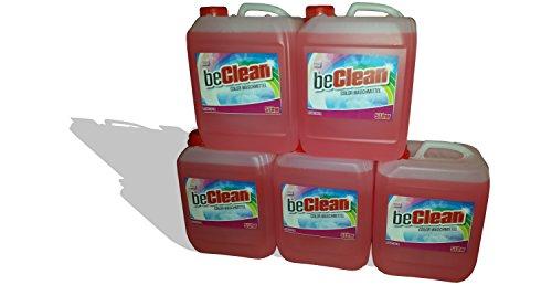 Color-Flüssigwaschmittel beCLEAN ROSÉ, 5x5 Liter Kanister