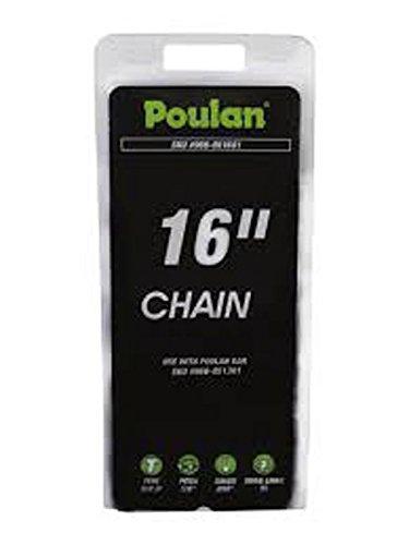 Poulan 966051601 Electric Saw Chain, 16-Inch -