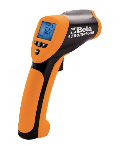 Beta 1760/IR1600 Digital Infrared Thermometer with Laser Aiming System by Beta Tools