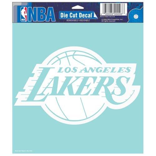 WinCraft NBA Los Angeles Lakers Die-cut Decal, 8