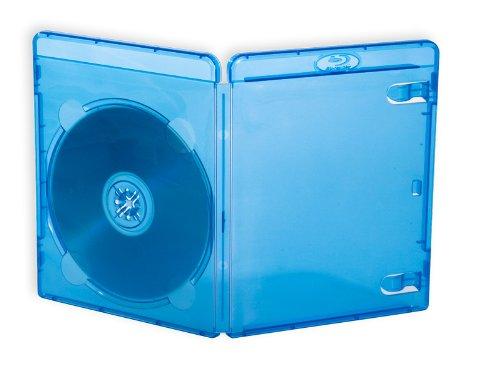 21 opinioni per 10 Custodie BD-R Blu Ray 14mm con tasca trasparente per copertina