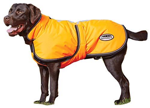 """Weatherbeeta Reflective Parka 300D Deluxe Dog Coat Orange 20"""""""