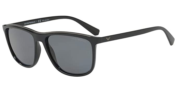 ed698040afc Emporio Armani sunglasses (EA-4109 501781) Shiny Black - Matt Black - Grey