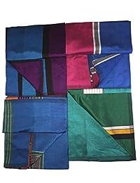 Handloom Sarong Mens Handloom Lungi Sarong 100% cotton. Stitched Tube sarong,Assorted Colors and Designs.
