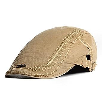 ERCZYO Sombrero de algodón para Hombre Pintor Bordado Gorras ...