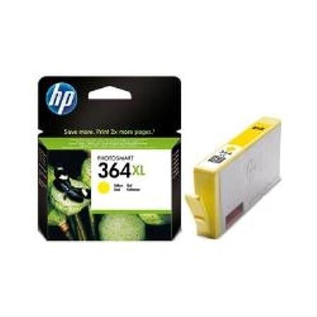 HP Tintenpatronen CB325EE gelb 364XL Photosmart D5400