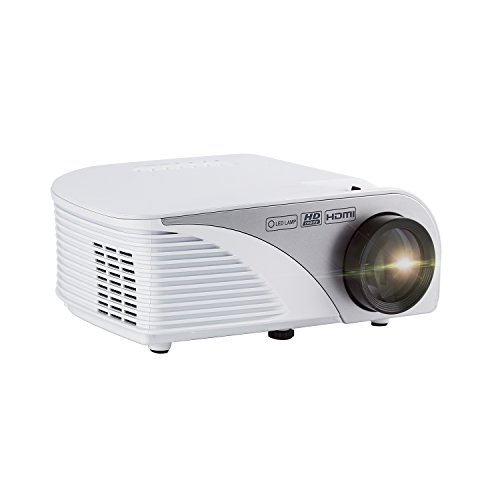 Projector,LESHP Mini 1200 LM Lumens Mini Multimedia Home Theater Portable LED Projector,Max 120'' Screen with AV/VGA/SD/USB/HDMI Multi Interface,Ideal for Video Game,Movie Night,Videos and Pictures by LESHP