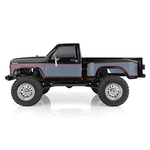 Team Associated 40001 CR12 Ford F-150 Pick Up Truck Ready to Run, Electric 1: 12th Scale 4WD, Brushed (Black)