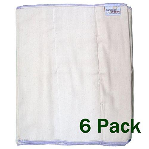 100% Unbleached Organic Cotton - 3