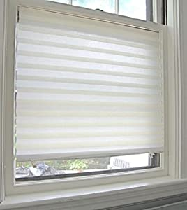 pack of 6 x white blinds in a box by temposhade temporary paper window blinds. Black Bedroom Furniture Sets. Home Design Ideas