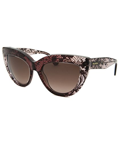 Valentino Women's Sunglasses, Bordeaux Lace, - Valentino Eyewear