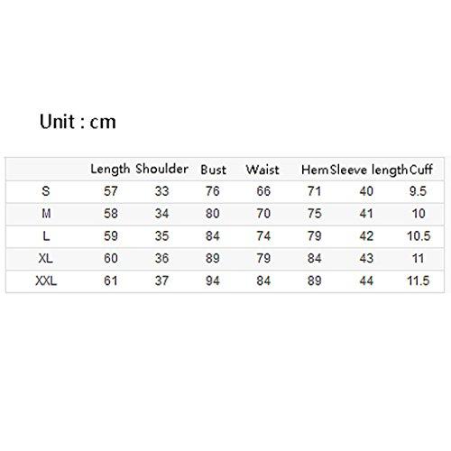 Autunno Shi Cotone T A shirt Shop Camicetta colore Maniche Xiang Dimensioni Semplice Slim Donna Li Tinta Lunghe Primavera In Unita E S F PYxwpdtq