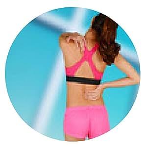 alfombrilla de ratón Mujer con dolor de espalda - ronda - 20cm
