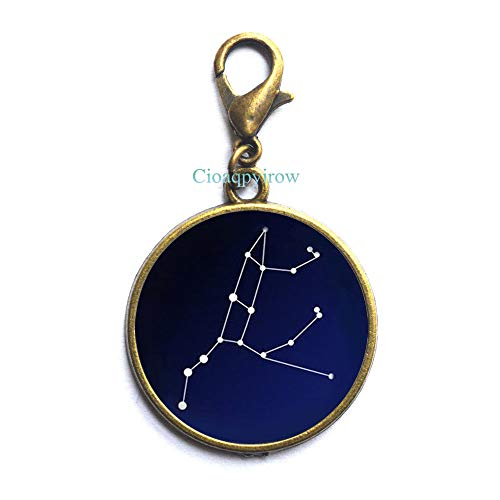 Cioaqpyirow Star Constellation,Northern Sky,Space,Univers,Astronomy•Zipper Pull,Men's Zipper Pull Gift to The Man,Gift Brother,HO0E269]()