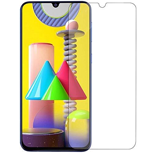 PRASO TECH Premium Tempered Glass Screen Protector for Samsung Galaxy M21 / M31 /M30S / M30 / A50S / A50 / A30S / A30 Fu
