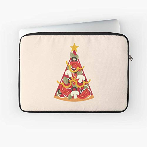 Pizza On Earth Vegetarian Laptop Sleeve - The Most Meaningful Gift for Family and Friends.