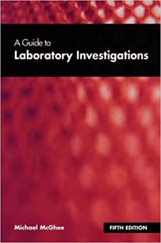 9781857753578: a guide to laboratory investigations, 3rd edition.