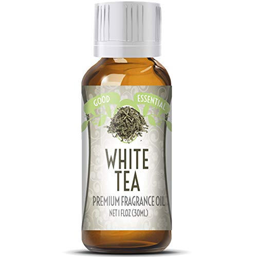 White Tea Perfume Oil - White Tea Scented Oil by Good Essential (Huge 1oz Bottle - Premium Grade Fragrance Oil) - Perfect for Aromatherapy, Soaps, Candles, Slime, Lotions, and More!