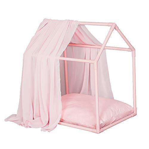 PETITE MAISON Pet House – House for Dog, Cat, Kitty or Puppy, Small to Medium Sized, Handmade Indoor/Outdoor Kennel, 100…