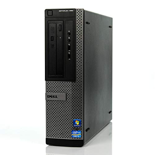 DELL OPTIPLEX 390 DT Desktop Computer, Intel Core I3-2100 3.1GHz, 8GB DDR3, 1TB, DVD, WIFI, HDMI, VGA, Bluetooth 4.0…