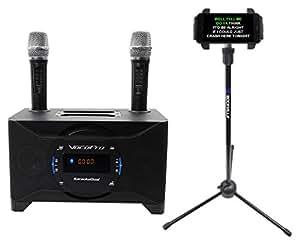 vocopro karaokedual tablet smart tv karaoke machine system 2 mics tablet stand. Black Bedroom Furniture Sets. Home Design Ideas