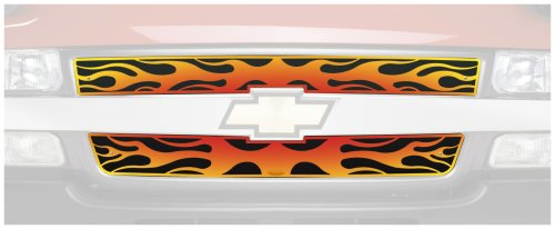 Putco 89307 Flaming Inferno Stainless Steel Grille