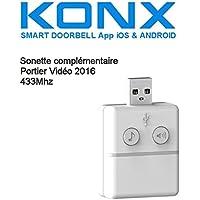 KONX® 2016Doorbell Timbre Notebook 433mhz