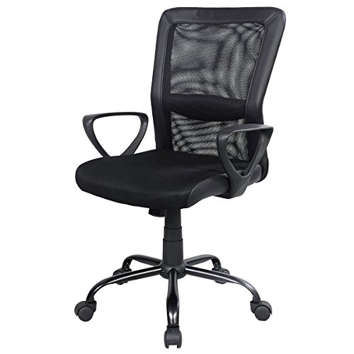 Super buy Modern Ergonomic Mesh Medium Back Executive Computer Desk Task Office Chair New by Super buy