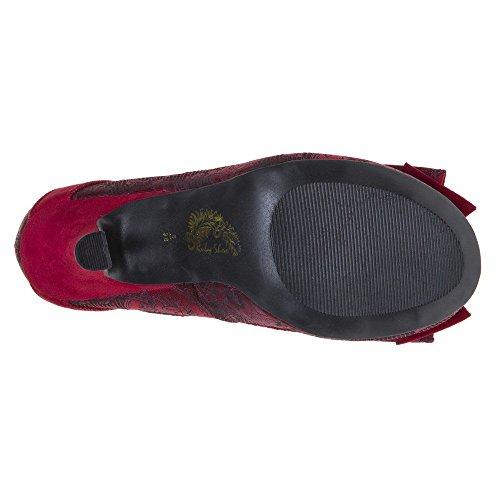 Ruby Shoo Ivy Damen Schuhe Rot Rot