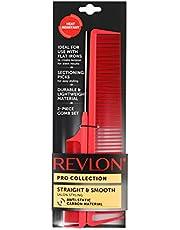 Pentes de carbono Revlon para salão, 2 peças