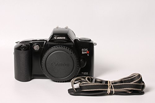 - CANON EOS REBEL X S 35mm SLR FILM STUDENT PHOTOGRAPHY CAMERA BODY