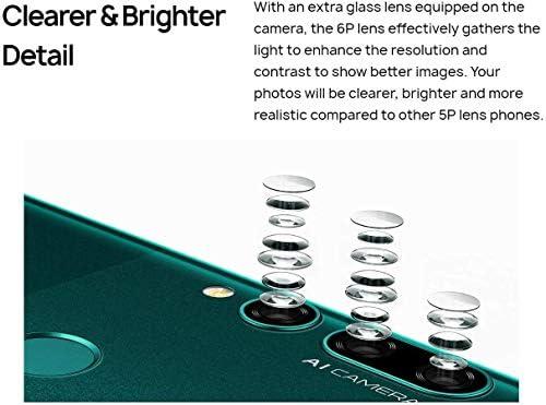 HUAWEI Y9 Prime 2019 STK-LX3 Smartphone 4G 128G Kirin 710 Octa core Auto Pop-Up Triple AI Camera 6.59 inch 4000 mAh Android 9.0(Dark Green)