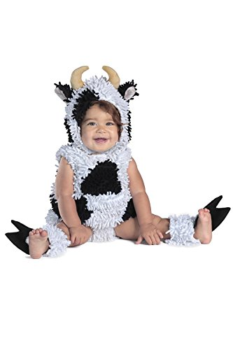 Cow Costumes Infant (Princess Paradise Baby's Kelly The Cow Deluxe Costume, As Shown, 18M/2T)