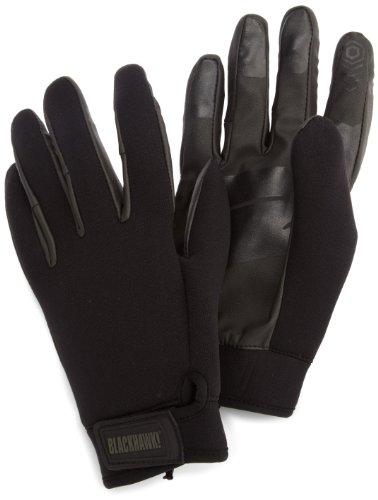 BLACKHAWK! Men's Neoprene Patrol Gloves (Black, Large)