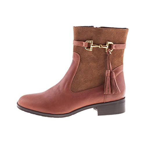 Cefalu Women's 800 Leather Zip Ankle Boot NAPA CUERO/SERRAJE VISION ZQuxtl