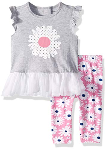 Gerber Baby Girls Tunic and Legging Set, Daisies, 24 Months