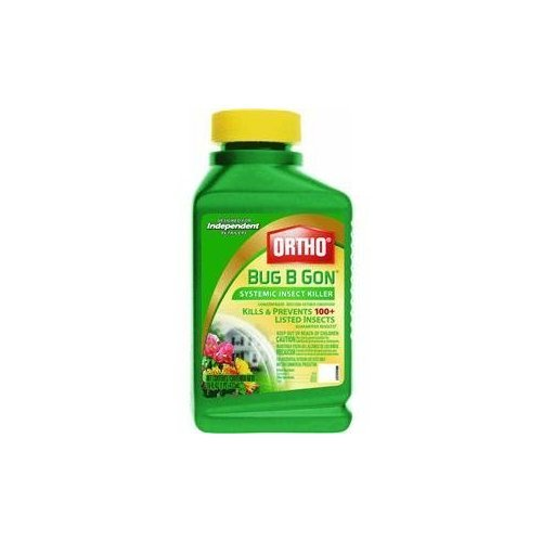 Scotts Company 1600610 Bug B Gon Systemic Insect Killer Concentrate, 16-Ounce