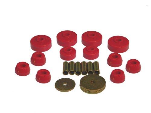 Prothane 18-101 Red Body Mount Kit