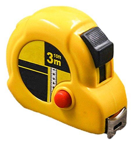 Retractable Tape Rule Inch/Metric Measurement, Measuring Tape Measures, 3m