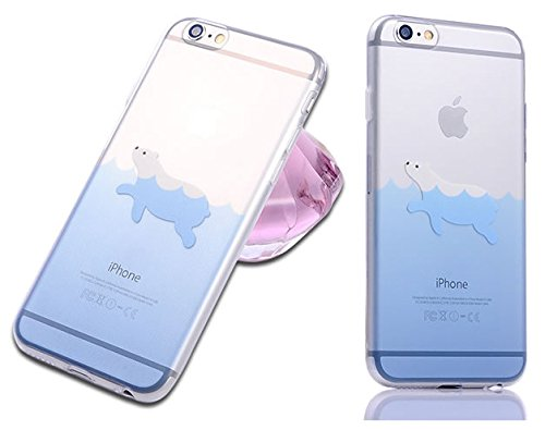 Iphone Cartoon Dolphin Penguin Animal product image