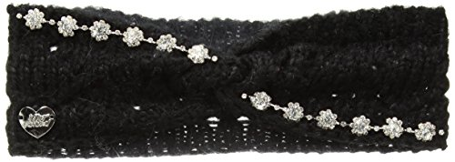 Betsey Johnson Women's ON The Rocks Headband, Black, ONE ()