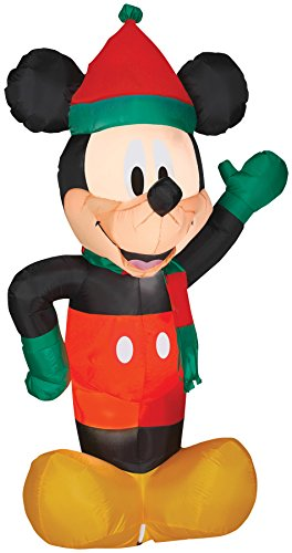 Airblown Inflatable Mickey Mouse in Holiday Theme Party Christmas Decoration -