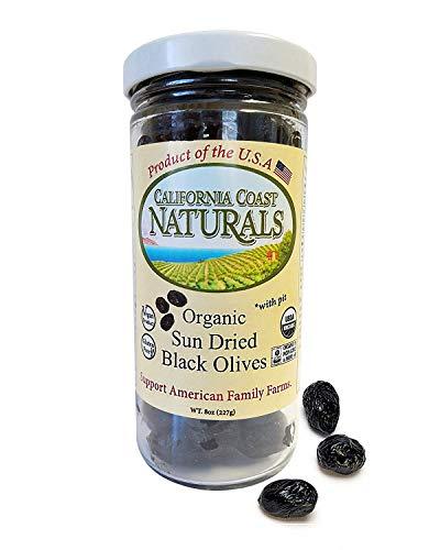 Organic Sun Dried Black Olives