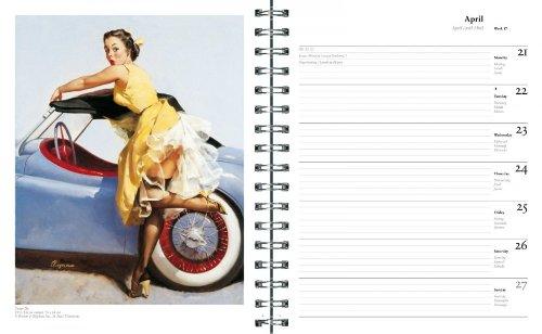 Pin-Ups: Gil Elvgren 2014 Engagement Calendar by Taschen